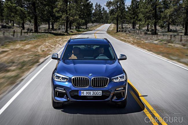 Третье поколение BMW X3