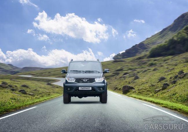 УАЗ Патриот будет оснащаться новой системой помощи водителю