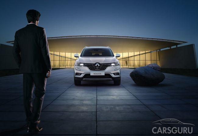 Кроссовер Renault KOLEOS появится в продаже совсем скоро