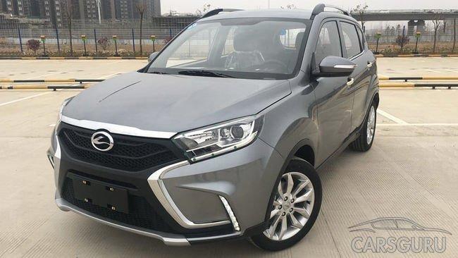 Стартовали продажи китайской LADA XRAY