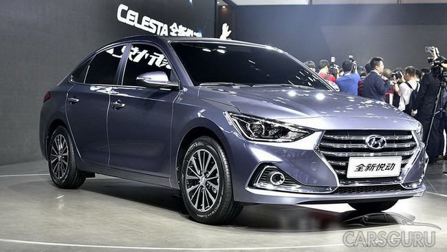 Hyundai выпускает хэтчбек на базе Celesta