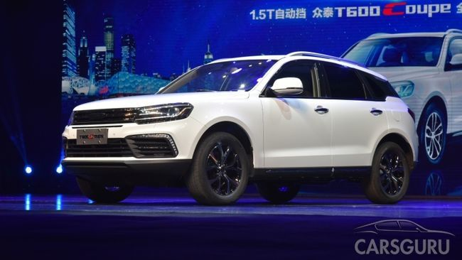 Zotye T600 Coupe уже в дилерских центрах