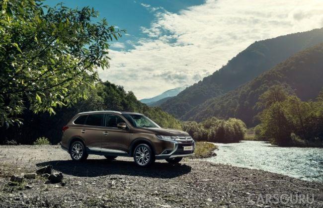 Mitsubishi Outlander предложен с нулевой ставкой по кредиту