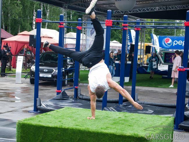 Datsun сообщил о намерении поддерживать Уличную атлетику в России