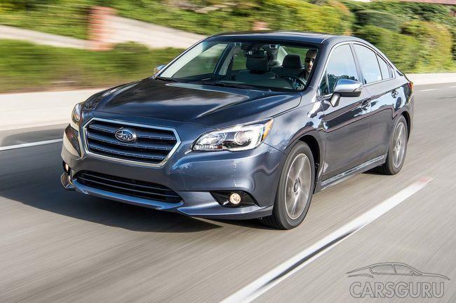Автопроизводитель Subaru назвал цены обновленного Legacy