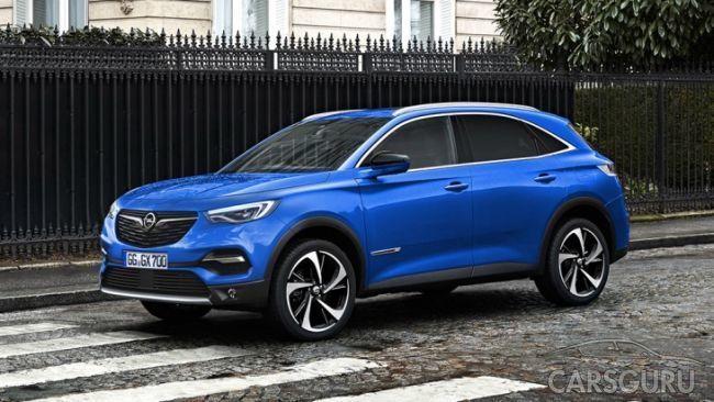 Продемонстрировали первый рендер нового Opel Omega X
