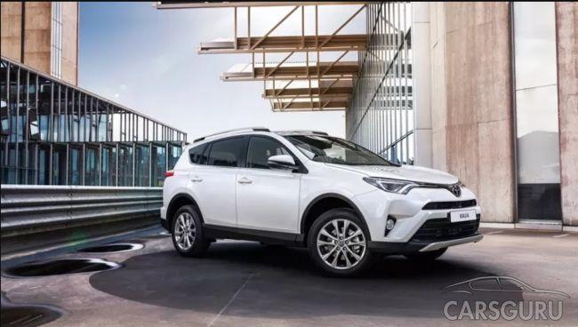 В России начались продажи Toyota RAV4 Adventure