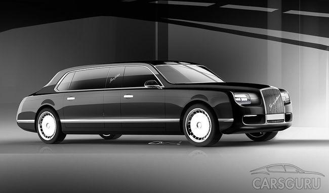 Президентский лимузин получит самый мощный за всю историю России мотор