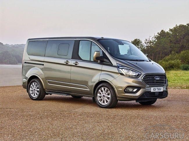 Ford представляет новое поколение микроавтобусов