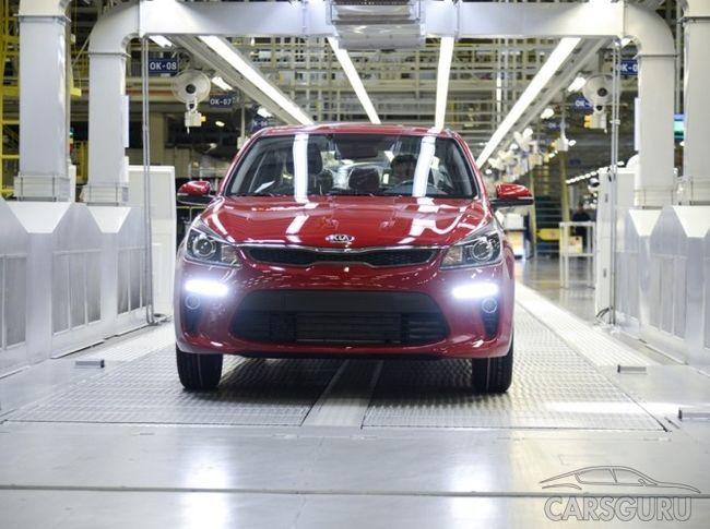 В России стартовало серийное производство нового поколения KIA Rio