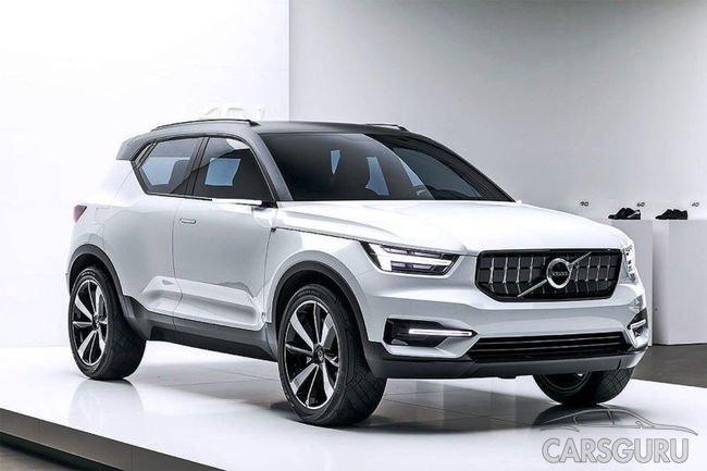 Автопроизводитель Volvo рассказал первую информацию о новом кроссовере
