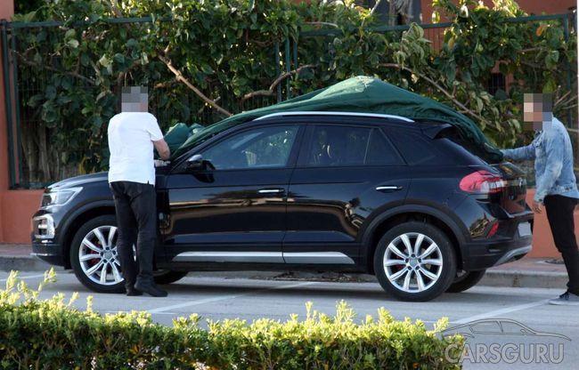 Кроссовер T-Roc может предстать в виде первого облегченного гибрида Volkswagen