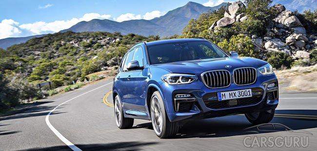 Новый BMW X3 в РОЛЬФ-Премиум.