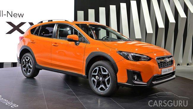 Subaru рассказала каким будет новый кроссовер XV