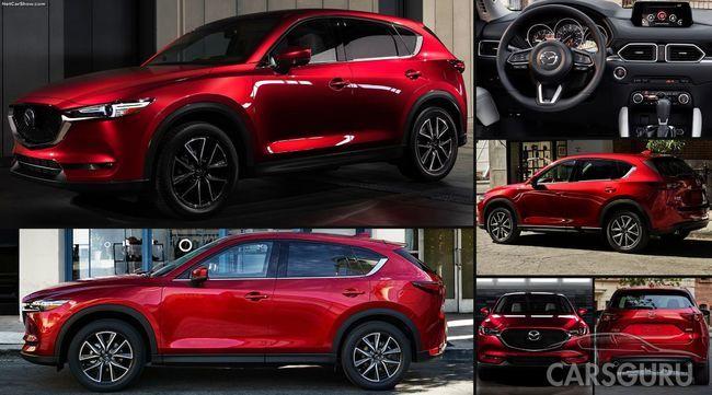 В России начались продажи нового поколения Mazda CX-5