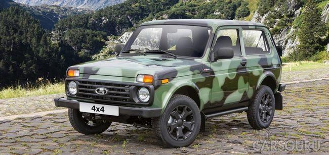Юбилейная Lada 4×4 будет выпущена в защитном окрасе