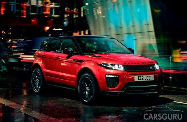 Range Rover Evoque. Яркая форма жизни