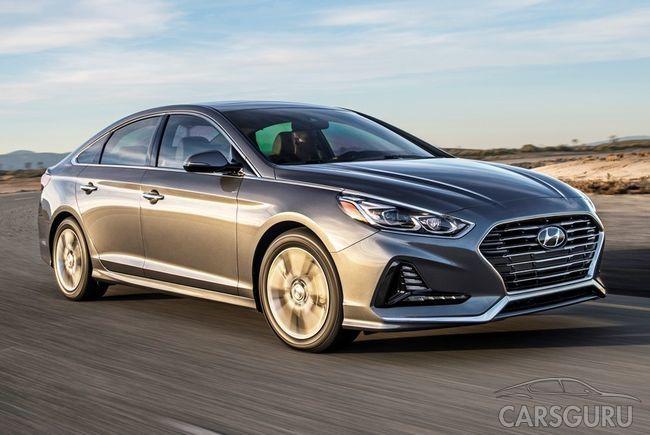 Стали известны подробности о Hyundai Sonata