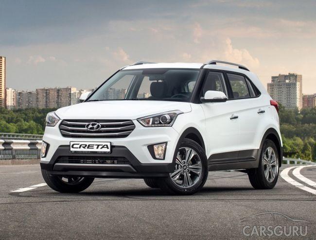 Hyundai Creta не теряет позиций лидера в сегменте SUV