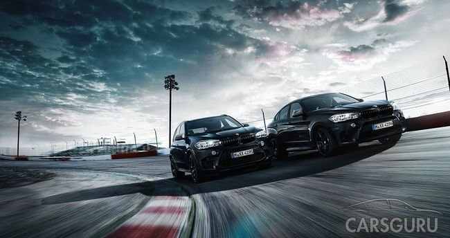 Особая серия: BMW X5 M и BMW X6 M в версии The Black Fire Edition в РОЛЬФ-Премиум.