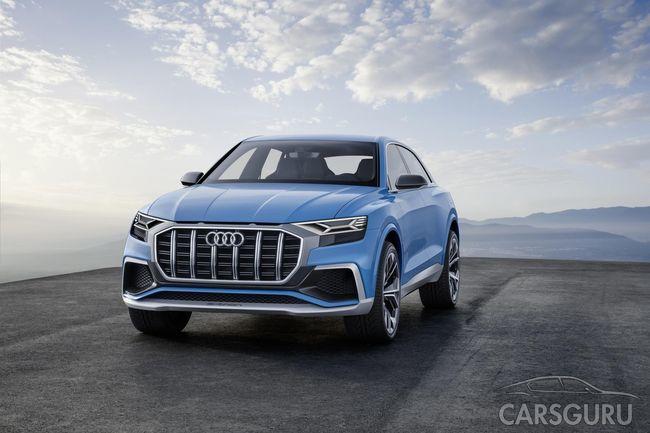 Рассекретили детали интерьера новой модели Audi
