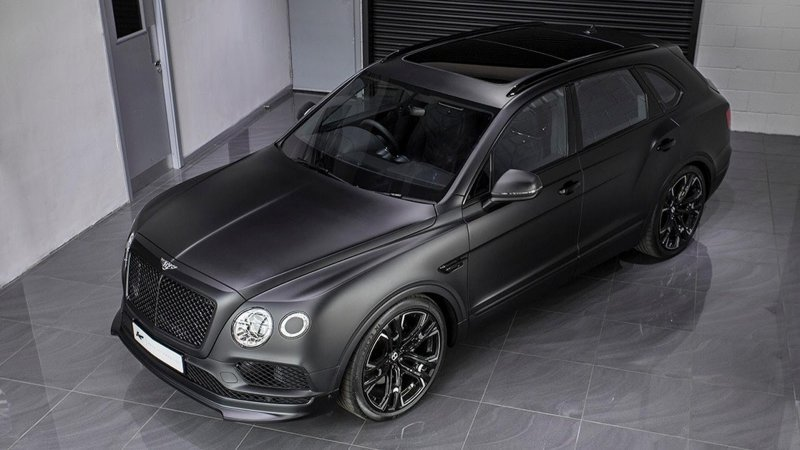Bentley Bentayga Le Mans Edition от мастеров Kahn » Автомобили и тюнинг