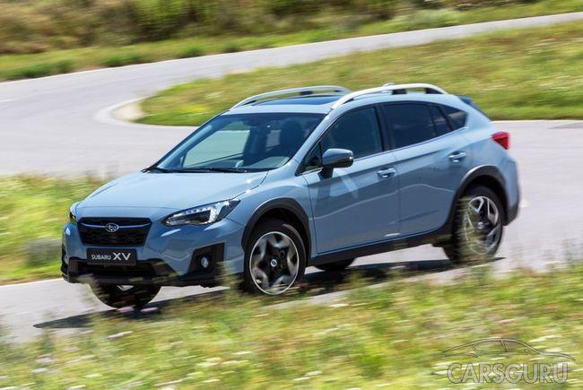 Ожидается появление бюджетного Subaru XV на российском рынке