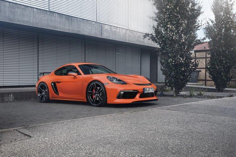 Porsche 718 со спортивным комплектом от TechArt » Автомобили и тюнинг
