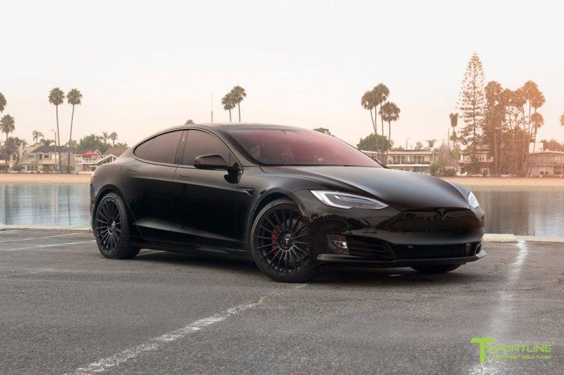 Кастомный Tesla Model S P100D от T Sportline » Автомобили и тюнинг