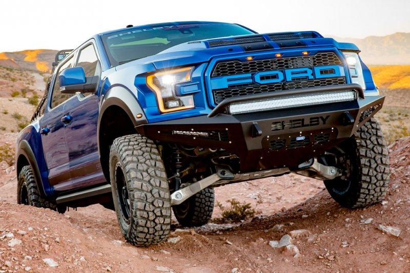 Shelby American выпустили свою версию Ford F-150 Raptor » Автомобили и тюнинг