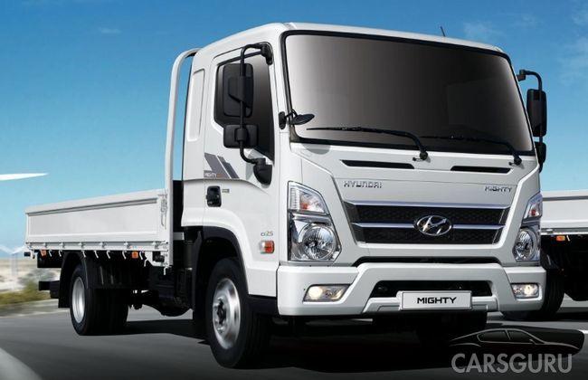 Поставки нового грузовика Hyundai Mighty в автосалоны страны начнутся с ноября