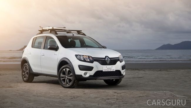 Производитель Renault предложил новую версию Sandero Stepway
