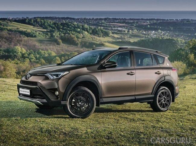 RAV4 Adventure от производителя Toyota предложен по новой цене