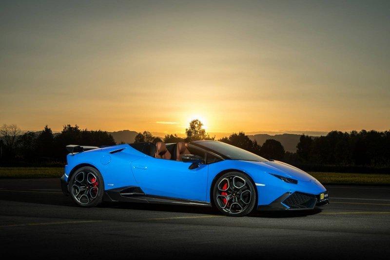 Lamborghini Huracan Spyder в исполнении O.CT Tuning » Автомобили и тюнинг