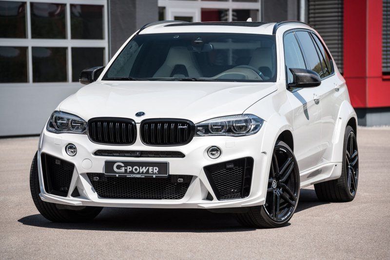 BMW X5 M Typhoon в исполнении G-Power » Автомобили и тюнинг