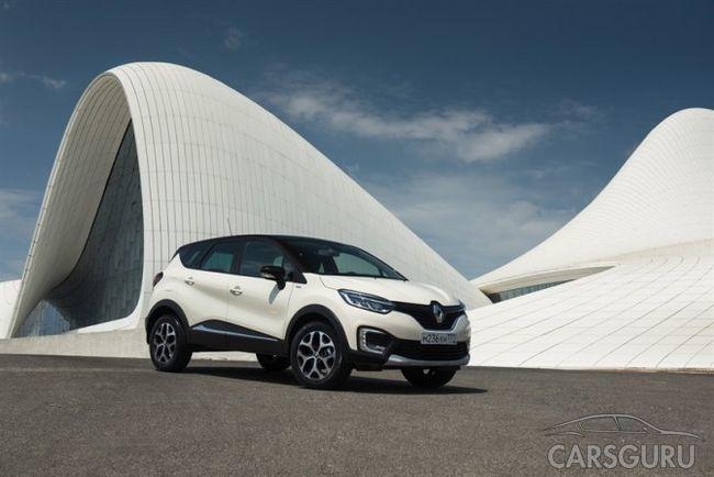 Renault Kaptur Extreme уже поступил в автосалоны страны