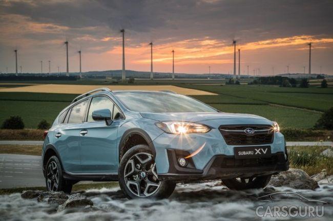 Уже известна стоимость модели Subaru XV новой генерации в России