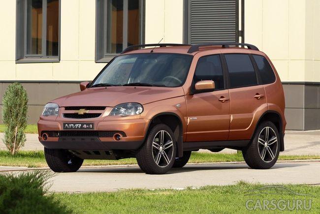 GM-АвтоВАЗ создали юбилейную версию Niva