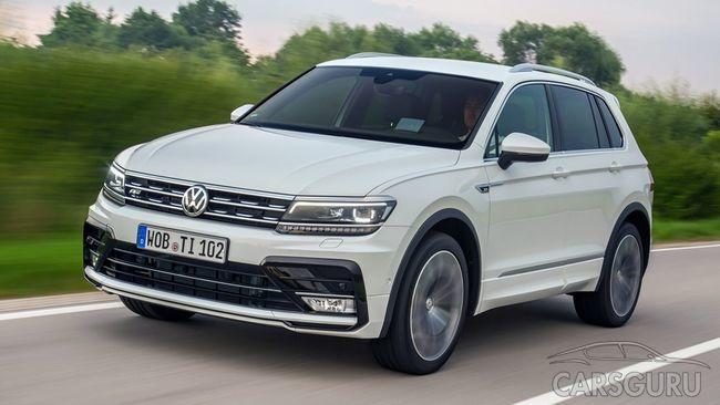 Tiguan от Volkswagen стал самым популярным среди SUV в столице России