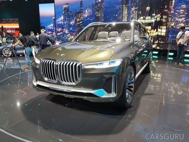 Концепт-кар BMW X7 удивляет экстерьером и наполнением