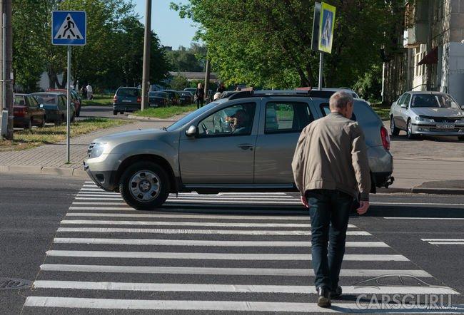 Теперь российские нарушители будут платить больше за непропуск пешехода на зебре