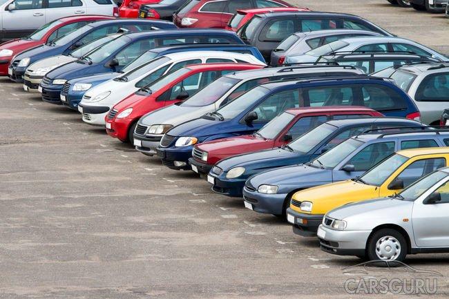 Рынок подержанных автомобилей в прошлом месяце увеличился на 6,5%