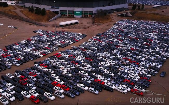 В Соединенных Штатах массово воруют модели Volkswagen из автокладбища