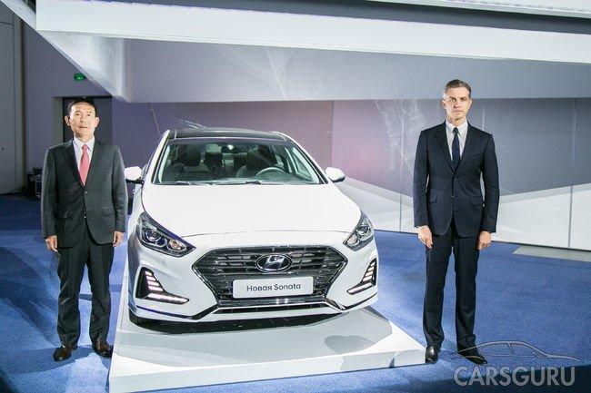 Hyundai Sonata вновь доступна российским автолюбителям