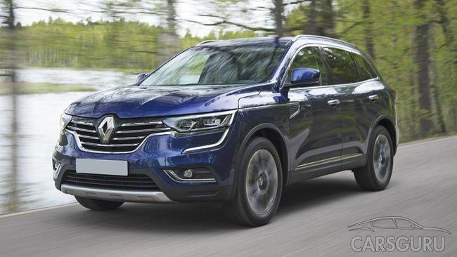 На российском рынке появилась дизельная модификация нового Renault Koleos