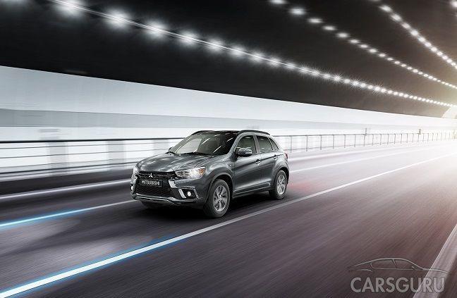 Официально огласили старт продаж обновленного Mitsubishi ASX 2018 в России