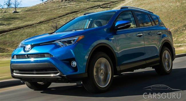 Новые комплектации и возвращение дизельной Toyota RAV4 в Россию