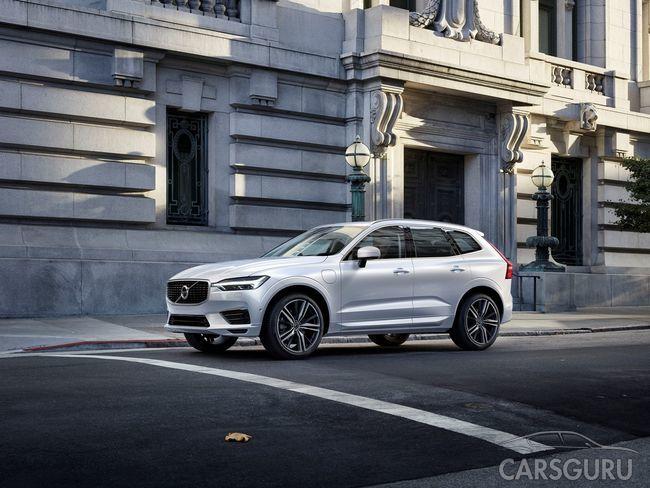 Российская премьера Volvo XC60 состоялась в формате иммерсивного спектакля Moments