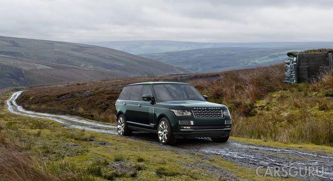 Range Rover Holland & Holland: самый дорогой внедорожник в истории марки уже в «АВИЛОН» Jaguar Land.