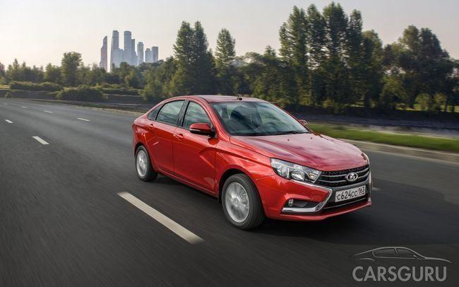 Lada Vesta получила более доступную версию с 1,8-литровым мотором
